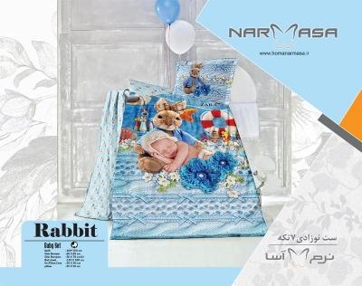 ست لحاف نوزاد مدل Rabbit