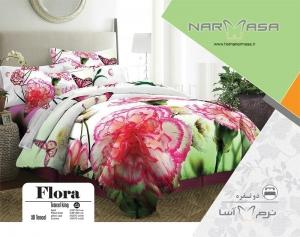 ست لحاف دو نفره مدل Flora