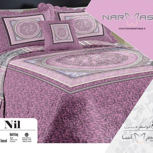 ست لحاف دو نفره پنبه دوزی مدل Nil