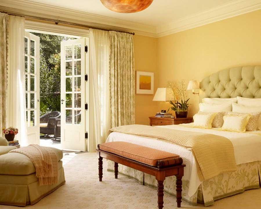 ۷ ایده ساده برای دکوراسیون یک اتاق خواب تابستانی