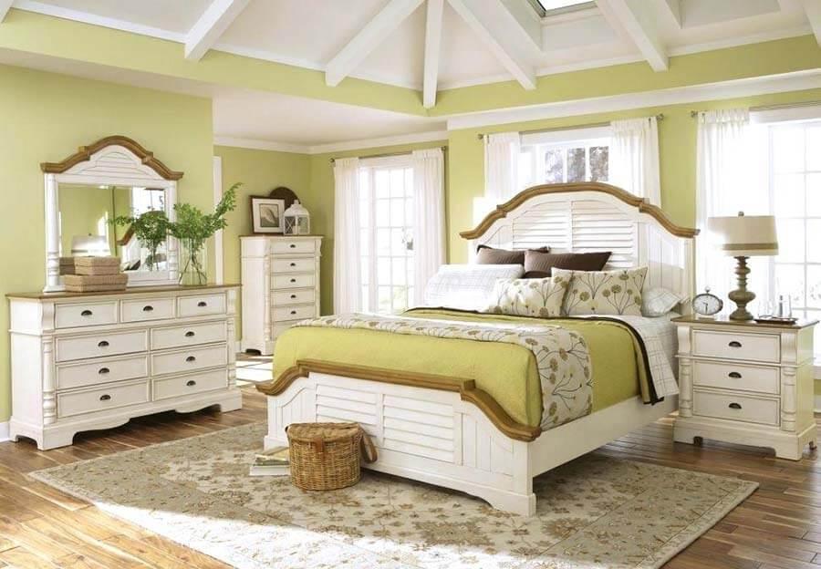 رنگ تخت خواب