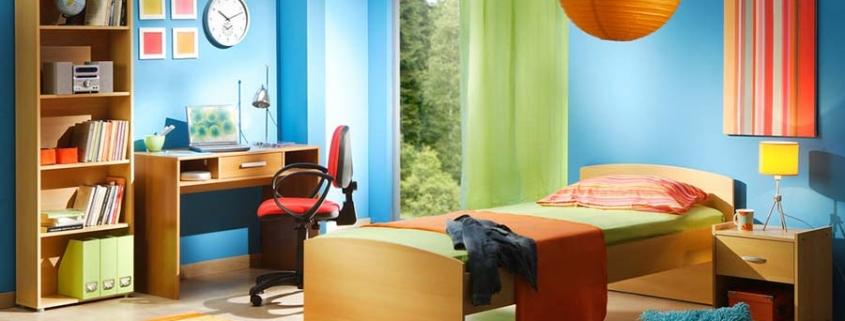 ترکیب رنگ برای دکوراسیون اتاق خواب