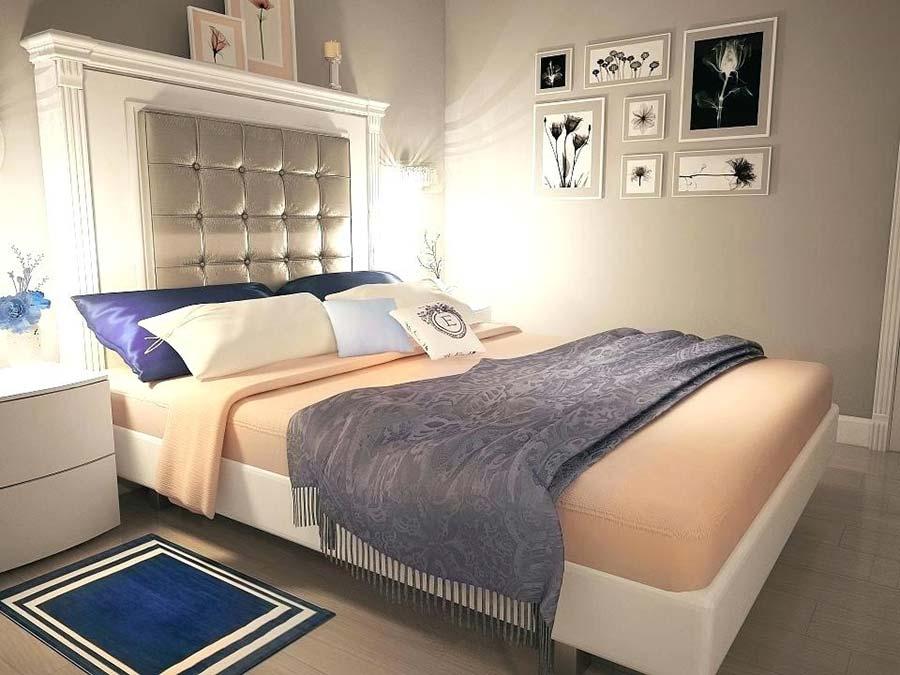 اتاق خواب نقرهای